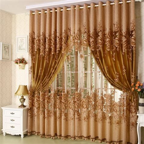 Sound Dening Curtains Three Types Of Uses by Awesome Living Room Curtain Designs