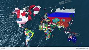 3D World Map Zoom To South America Stock Animation | 529620
