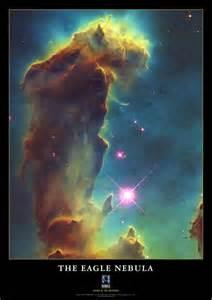 Hubble Telescope Eagle Nebula