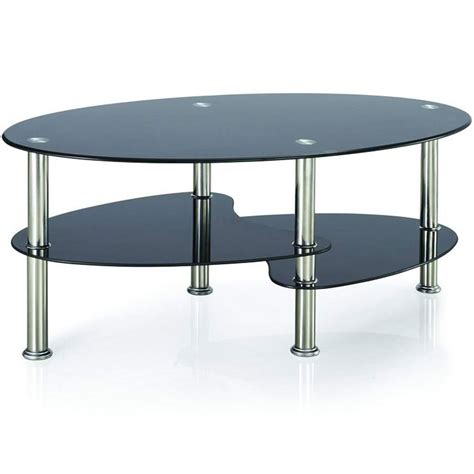 cara coffee table black glass cara coffee table black glass oval top living room