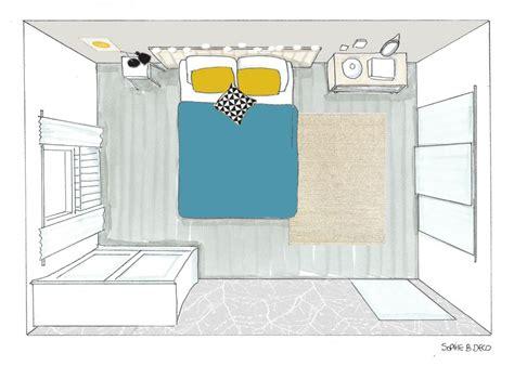 croquis de chambre décoration et aménagement d 39 une chambre à carcassonne