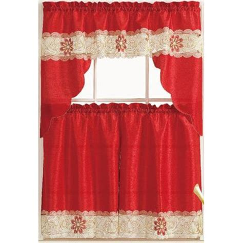 Red Kitchen Curtains   A Listly List