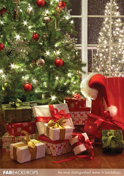 Backdrop Santa by Fab Vinyl Waiting For Santa Backdrop