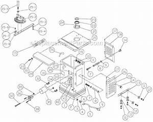 Jet Jws-25cs Parts List And Diagram