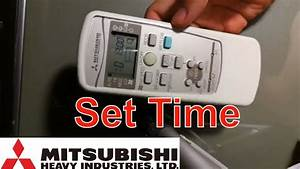 6 Pics Mitsubishi Air Conditioner Remote Control