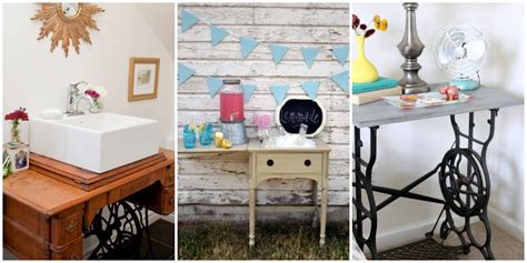 sewing machine desk ideas repurposed sewing table ideas sewing table makeovers