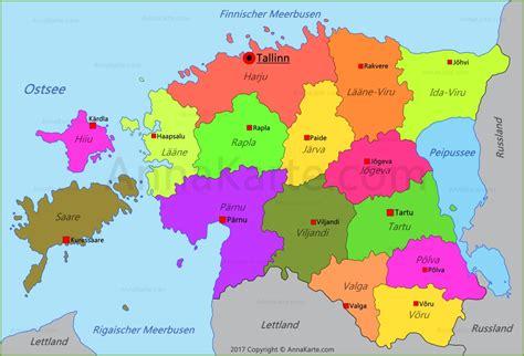 estland karte annakartecom