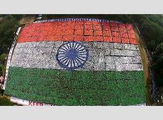 Largest Indian Human Flag Chennai sets a New Guinness