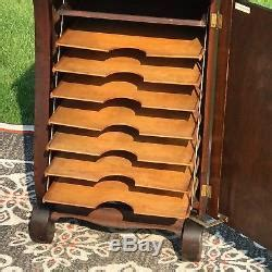 Sheet Music Storage Cabinet Stand Cantilever Shelves