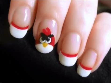 unas decoradas angry birds youtube