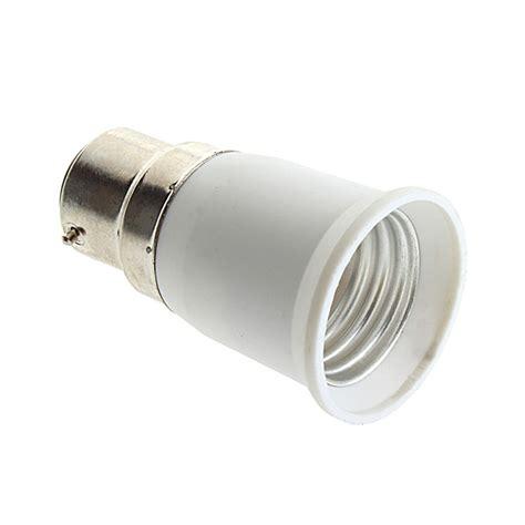 B22 To E27 Socket Light Bulb Lamp Holder Adapter Plug