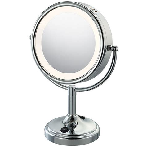 Doublesided Lighted Vanity Mirror In Vanity Mirrors