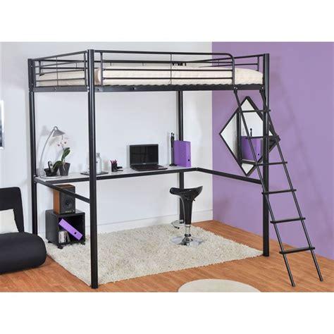 lit mezzanine 2 places avec bureau acheter lit mezzanine avec bureau