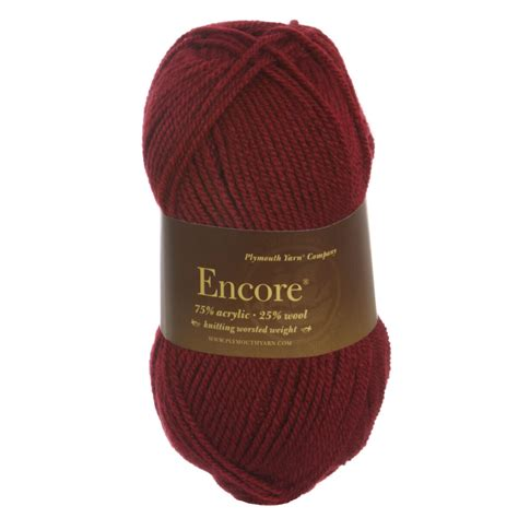 cinnabar review plymouth yarn encore worsted yarn 0212 cinnabar reviews at jimmy beans wool