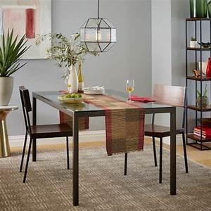 80 idees pour bien choisir la table a manger design for Meuble salle À manger avec table salle a manger extensible design