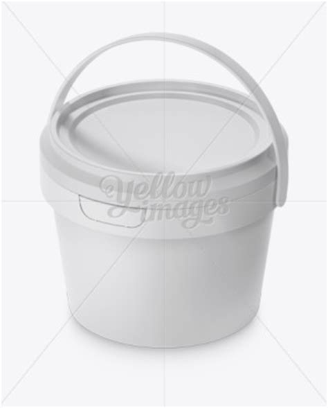 This free mockup is for personal use only. 20L Tin Paint Bucket Mockup | Mockups for Packaging Design ...