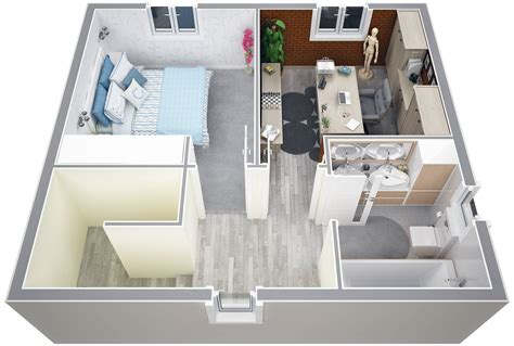 amenagement chambre 20m2 villa contemporaine 115m2 etage modèle iris salon de