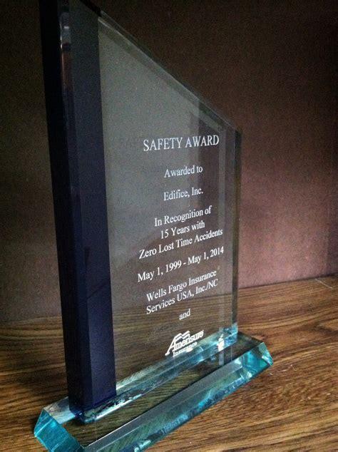 edifice recognized   commitment  safety edifice