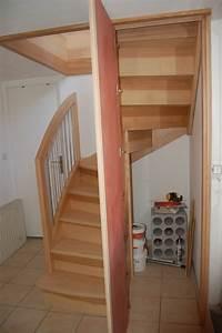 Placard Escalier : d1 escalier 1 2 tour petits espaces jac samson ~ Carolinahurricanesstore.com Idées de Décoration