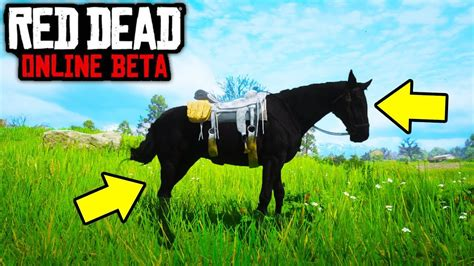 horse rdr2 dead redemption dark exclusive
