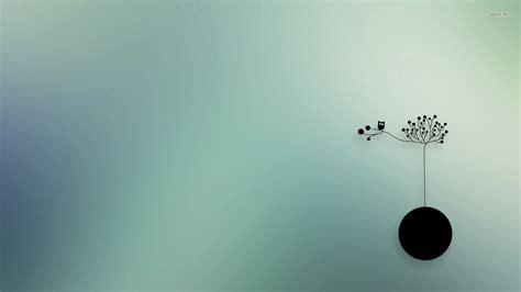 24295 Owl On A Tree 1920x1080 Vector Wallpaper