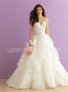 wedding dress strapless sweetheart layered organza traditional gown wedding dress of