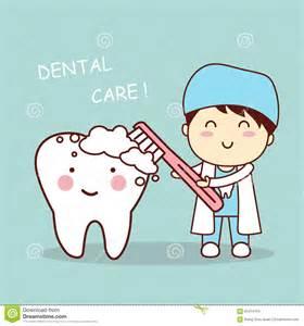 Cute Dentist Teeth Cartoons