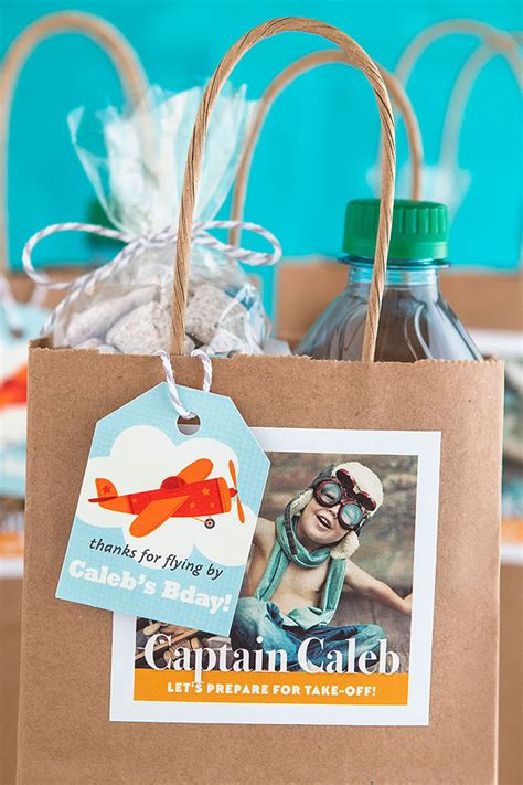 airplane themed birthday party favors party inspiration