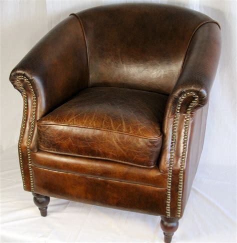 Prairie Perch Leather Club Chairs (let's Go A Sourcing