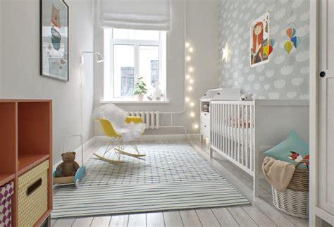 Lovely And Light Scandinavian Style Baby's Nursery Design