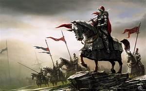 Fantasy - Knight - Horse - Battle Wallpaper   Fantasy/Sci ...