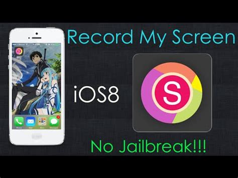 how do i record my iphone screen how to get record my screen iphone ios8 no jailbreak