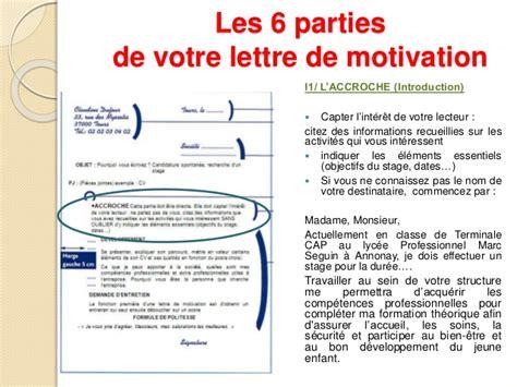 lettre de motivation phrase d accroche conseils pour r 233 diger une lettre de motivation