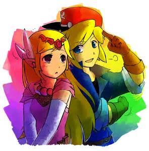 deviantART Link and Zelda Love
