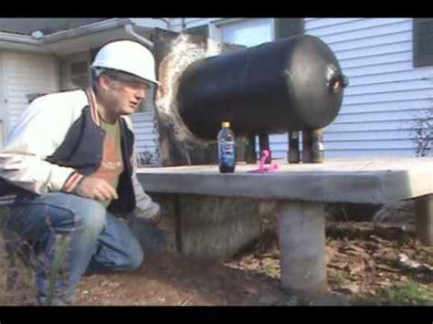making  outdoor wood furnace  bob part  youtube