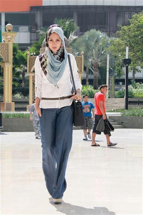 Koleksi Gambar Busana Hijab Modern Trendy Dan Casual