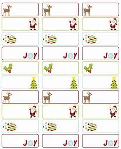 christmas labels free templates invitation template With cute address labels free