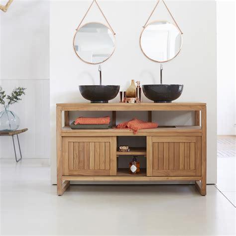 mobilier bureau marseille meuble salle de bain en teck meubles colonial duo tikamoon