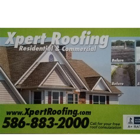 xpert roofing home improvement roseville mi
