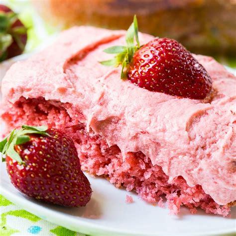 southern living strawberry cake recipe
