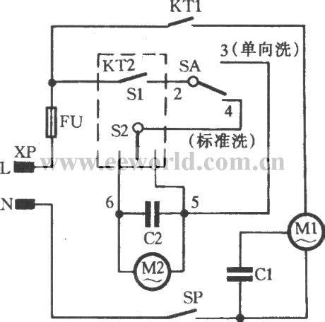 washing machine motor circuit diagram impremedia net