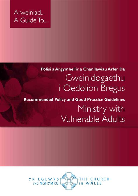 vulnerable adults church wales