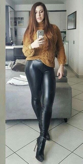 lederlady leder leggings bekleidung lederjeans