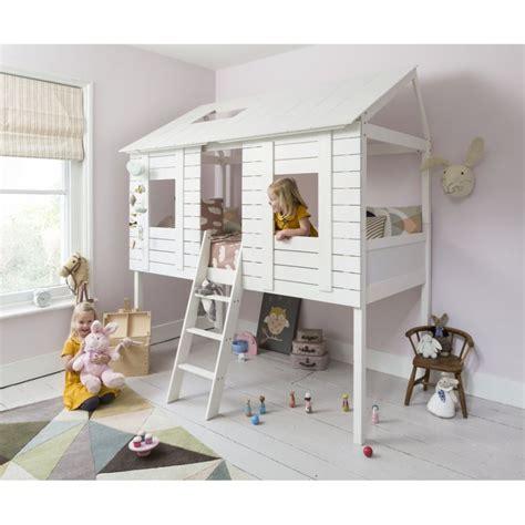 cabane chambre fille fabriquer lit cabane soi même tâche compliquée mais possible