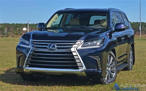 toyota lexus 570 2017 2017 lexus lx 570 review test drive
