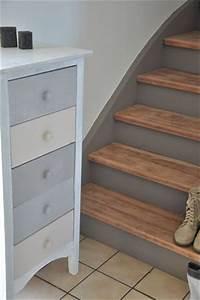 17 meilleures idees a propos de escaliers peints sur With peindre des marches d escalier en bois 7 renovation escalier la meilleure idee deco escalier en un
