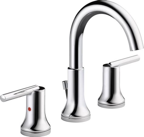 delta 3559 mpu trinsic widespread bathroom faucet faucet 3559 mpu dst in chrome by delta