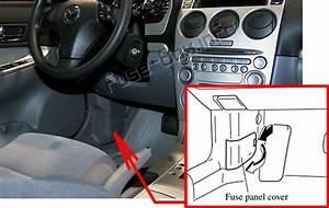 Fuse Box Diagram  U0026gt  Mazda 6  Gg1  2003