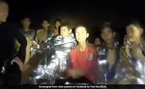 New Navy Video Shows Thai Boys Trapped In Cave In  U0026quot Good