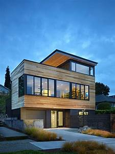Cycle House Modern Home In Seattle  Washington By